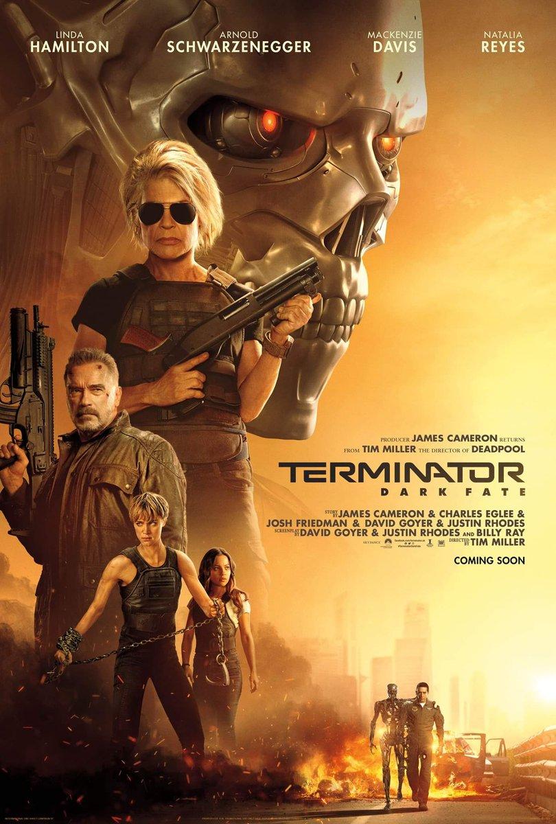 Image result for terminator dark fate movie poster