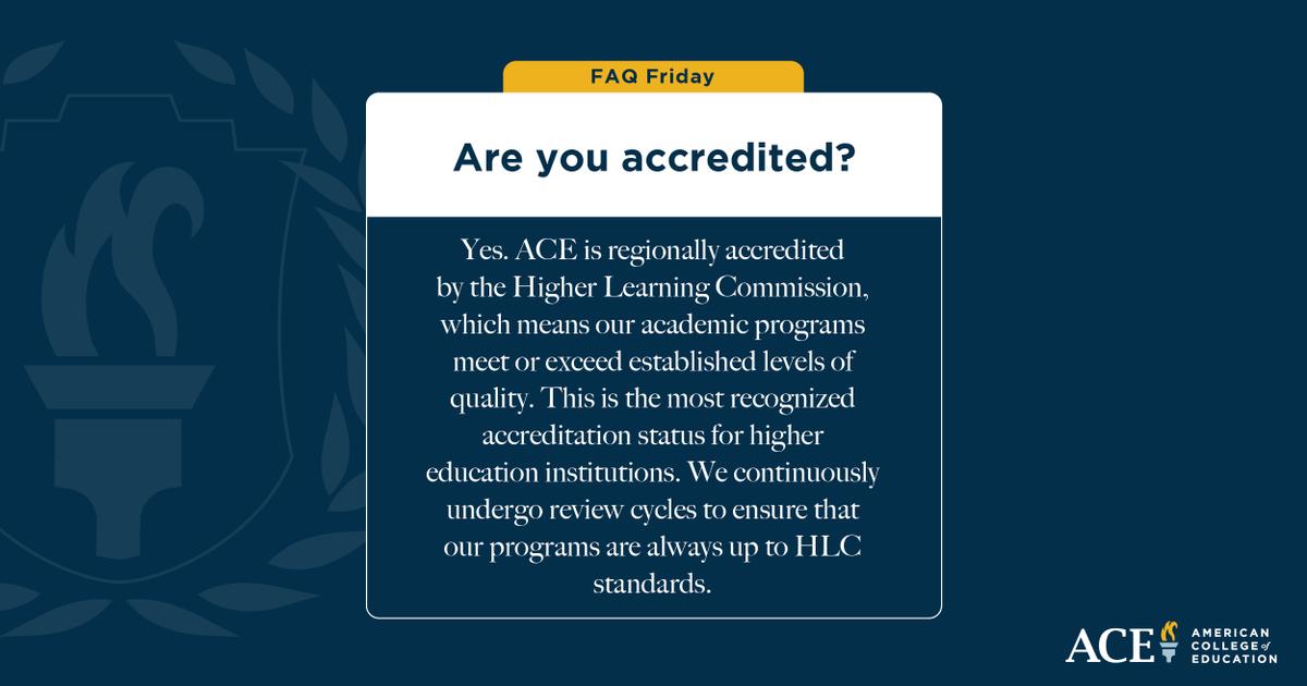 American College of Education (@ACEedu) | Twitter