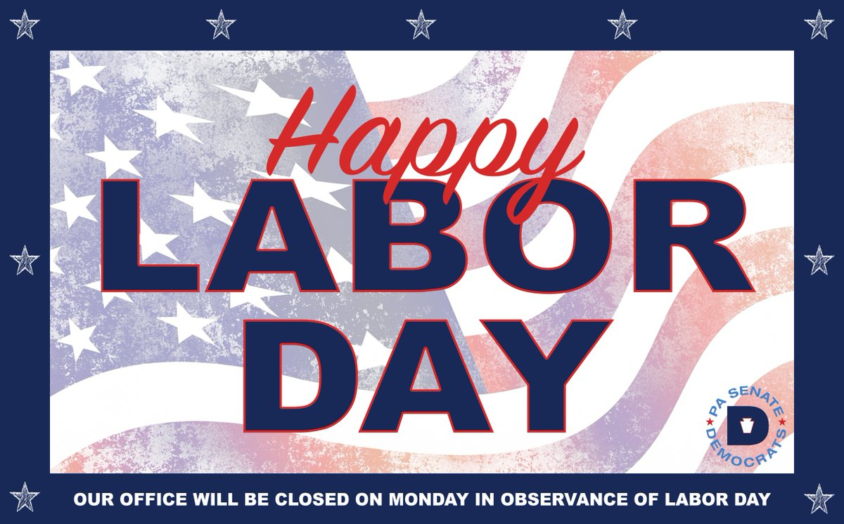 We enjoy this day off (and many other workplace benefits!) thanks to our brothers & sisters in labor.