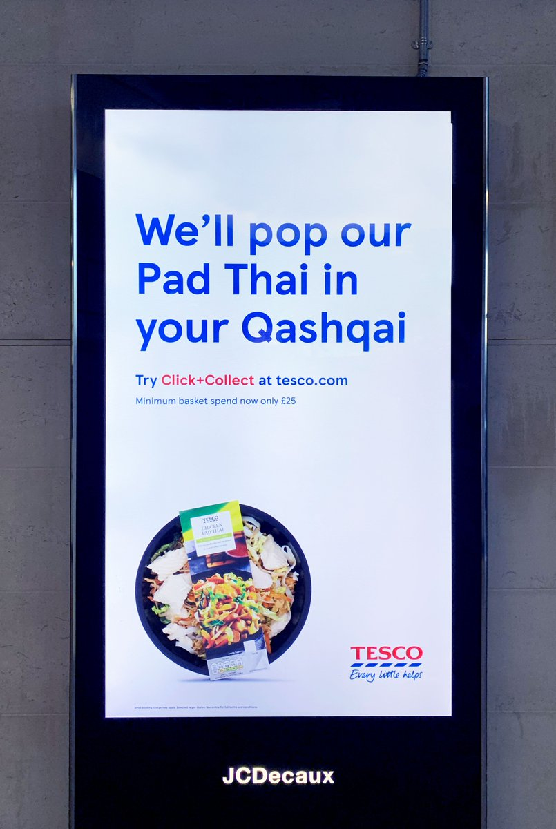 Thanks @Tesco Why stop at Pad Thai?You can get the whole shop in a Nissan Qashqai(and family too)