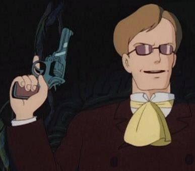 ムスカが3分間待ってやったのは「弾丸を撃ち切って再装填する為」ってのは有名ですが、劇中で発砲したのは5発。しかしムスカが持ってるエンフィールドNo.2は6発装填。 どちらか片方を撃つならば残りの1発で済むところを、しっかりフル装填する所にムスカの人間性が描かれてて好きなんですよね。