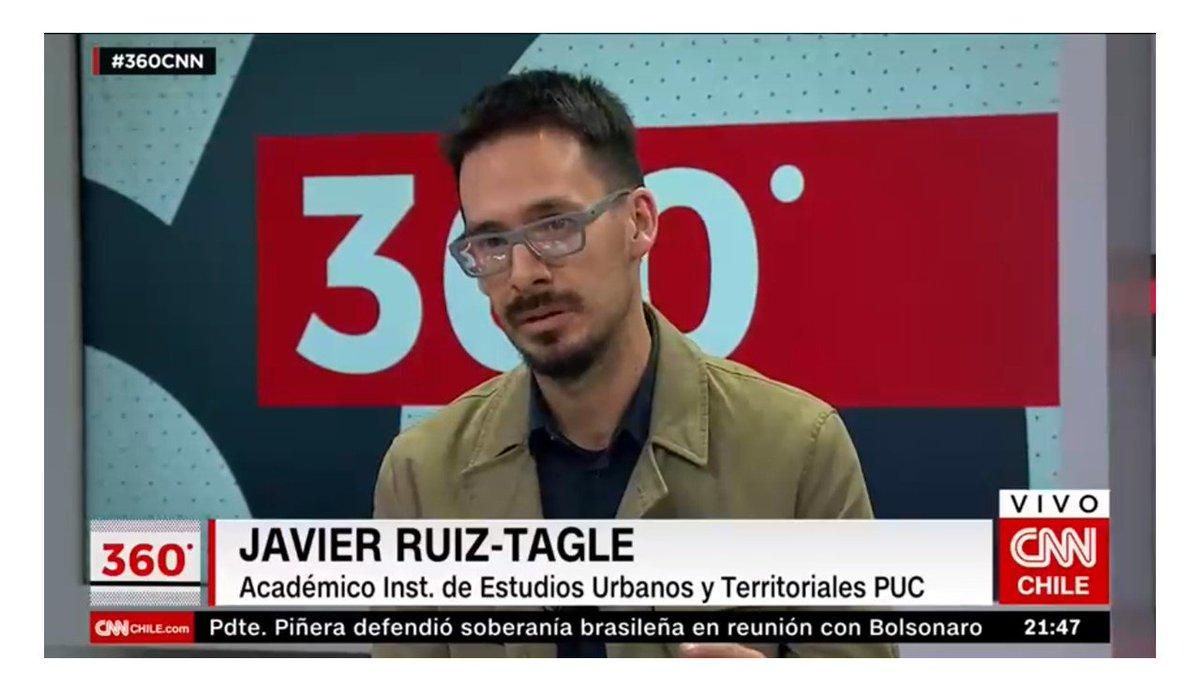 """Estudios Urbanos UC on Twitter: """"El difícil acceso de las familias chilenas  al mercado de viviendas. Interesantes entrevistas concedidas por el  Director Luis Fuentes en Vía Pública (TVN) y por el profesor"""