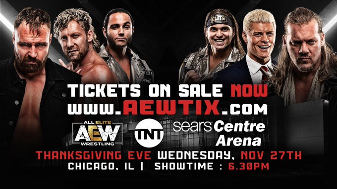 AEW Announces Return To Chicago This November