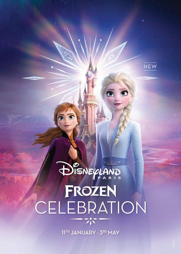 Frozen Celebration - Disneyland Paris 2020