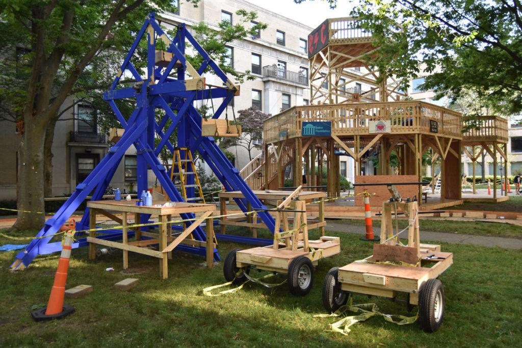 'Be Safe Don't Die!' Temporary DIY Carnival Reappears At @MIT's East Campus https://gregcookland.com/wonderland/2019/08/30/mit-carnival/… @universalhub