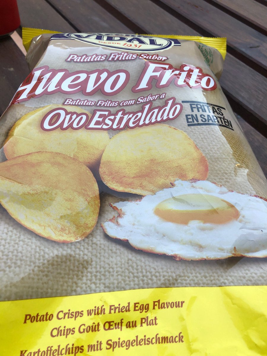 Paul Rose On Twitter Spanish Fried Egg Flavour Crisps The Most Accurate To Real Life Crisp Flavour I Ve Ever Tasted Jury Is Out As To Whether Or Not This Is A Good Thing Https T Co Dw63ke96n4