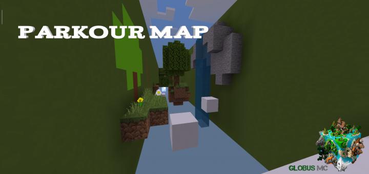 Parkour Map (GLMC) - https://mcpedl com/parkour-map-glmc