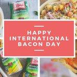 Image for the Tweet beginning: Tomorrow's #InternationalBaconDay! 🥓 Celebrate with
