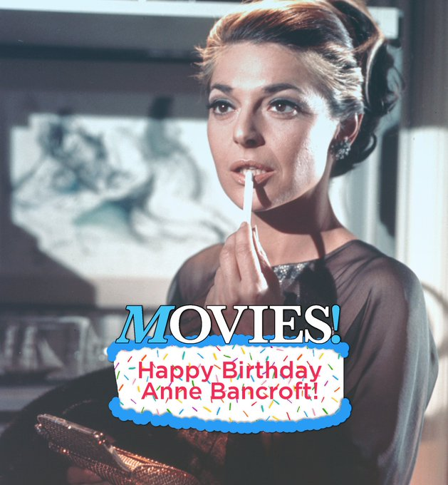 Happy Birthday to Anne Bancroft!  This sizzling picture is from what movie?