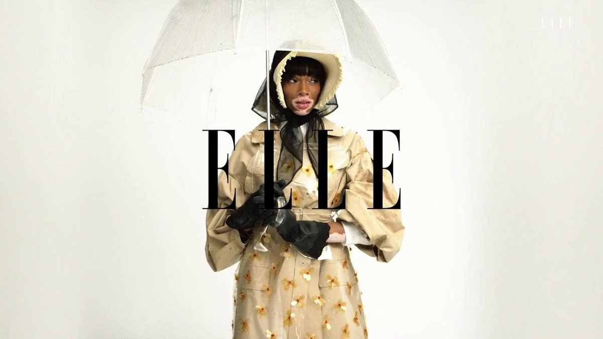 Go behind-the-scenes with ELLE and Winnie Harlow.