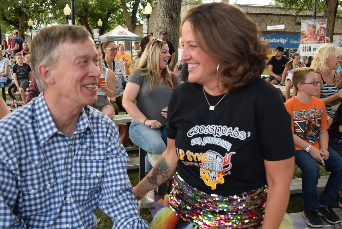 Always a great time at the Colorado State Fair and so glad I caught Senator @Dlesgar's lip sync battle last night!