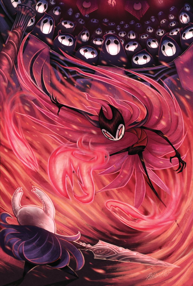 Finally able to post my piece for @SoulZine ! I'm really happy to have been part of this! #HollowKnight