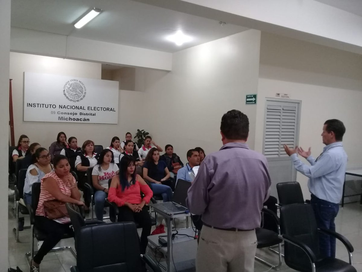 Ine Michoacán On Twitter Vocales La 09 Junta Distrital
