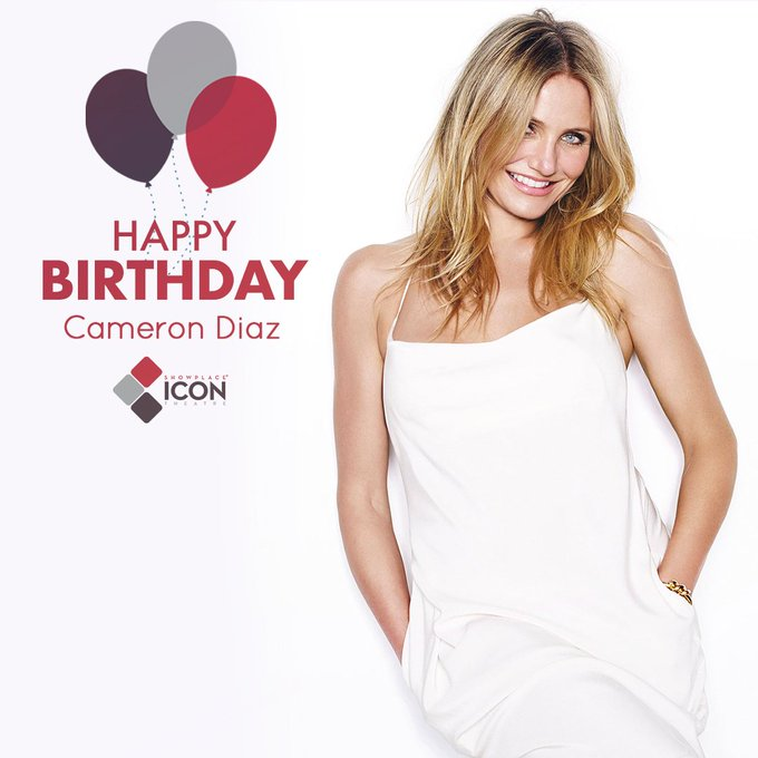 We miss her. When will she return to the big screen? Happy birthday, Cameron Diaz. Visit: