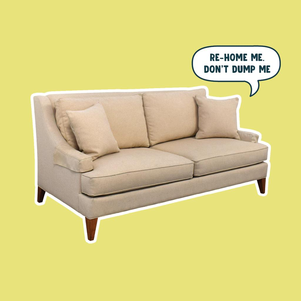 Surprising Garage Sale Trail On Twitter No One Likes To Be Dumped Machost Co Dining Chair Design Ideas Machostcouk