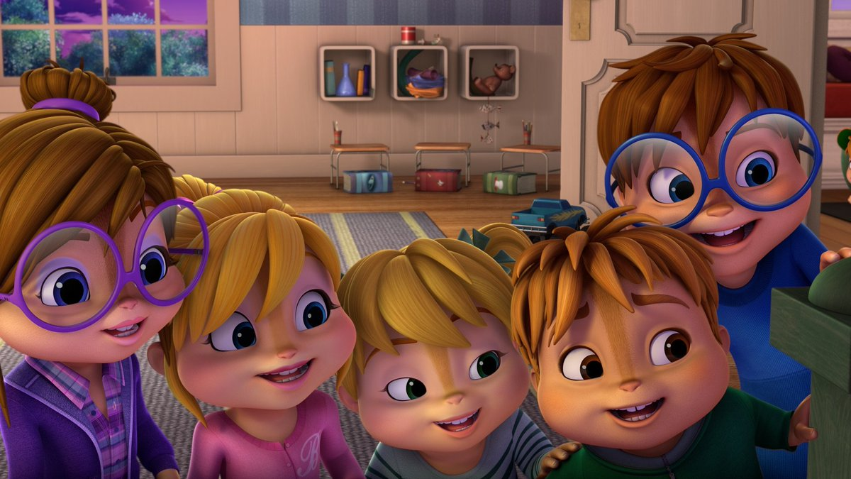 Alvinnn And The Chipmunks Brittany And Alvin avainsana #chipettes twitterissä