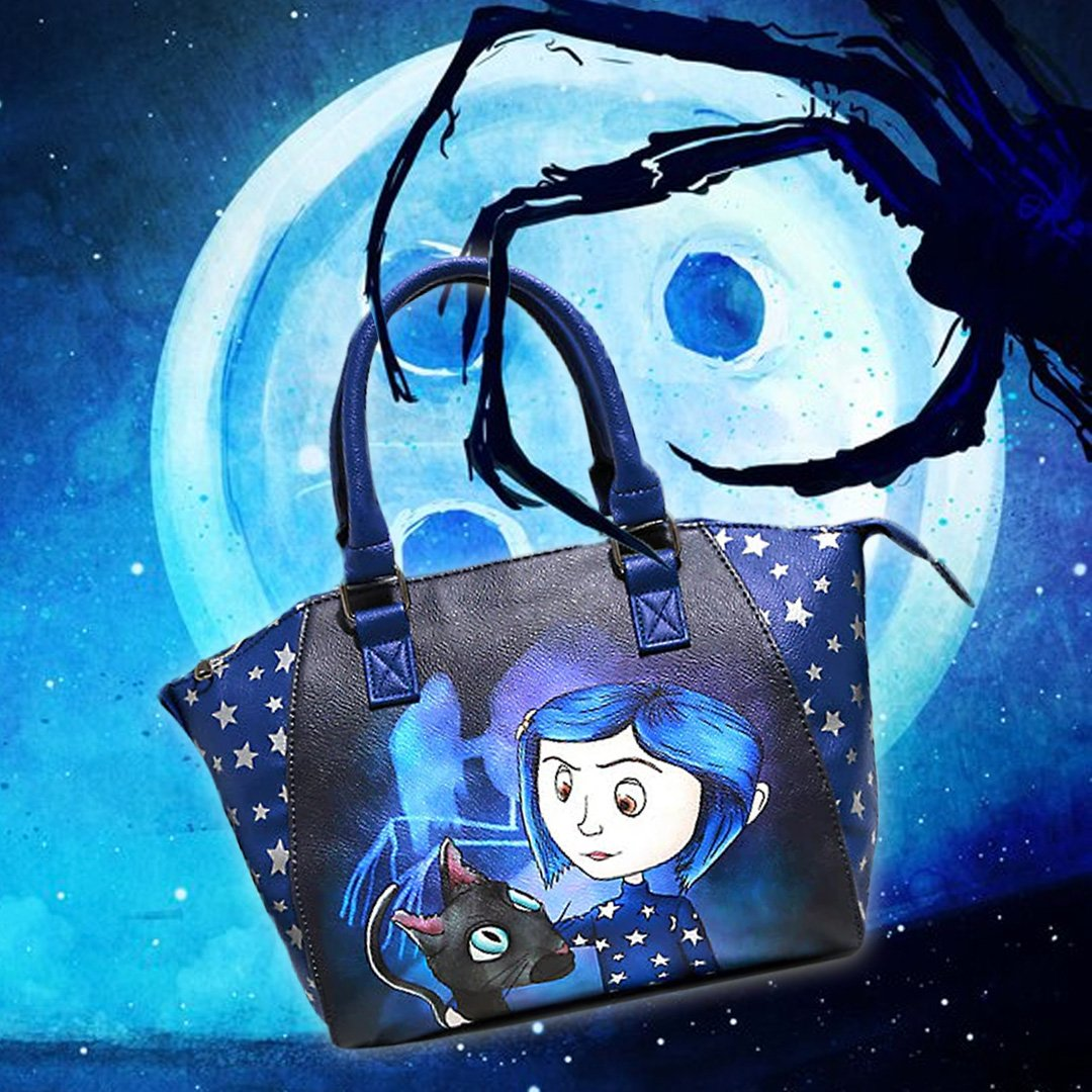 Loungefly On Twitter A Tote Made For The Bravest Duo On Both Sides Of The Door Coraline Tote Available Hottopic Https T Co Rjqpfve6si Coraline Handbag Loungefly Https T Co Gxymo8nxuk