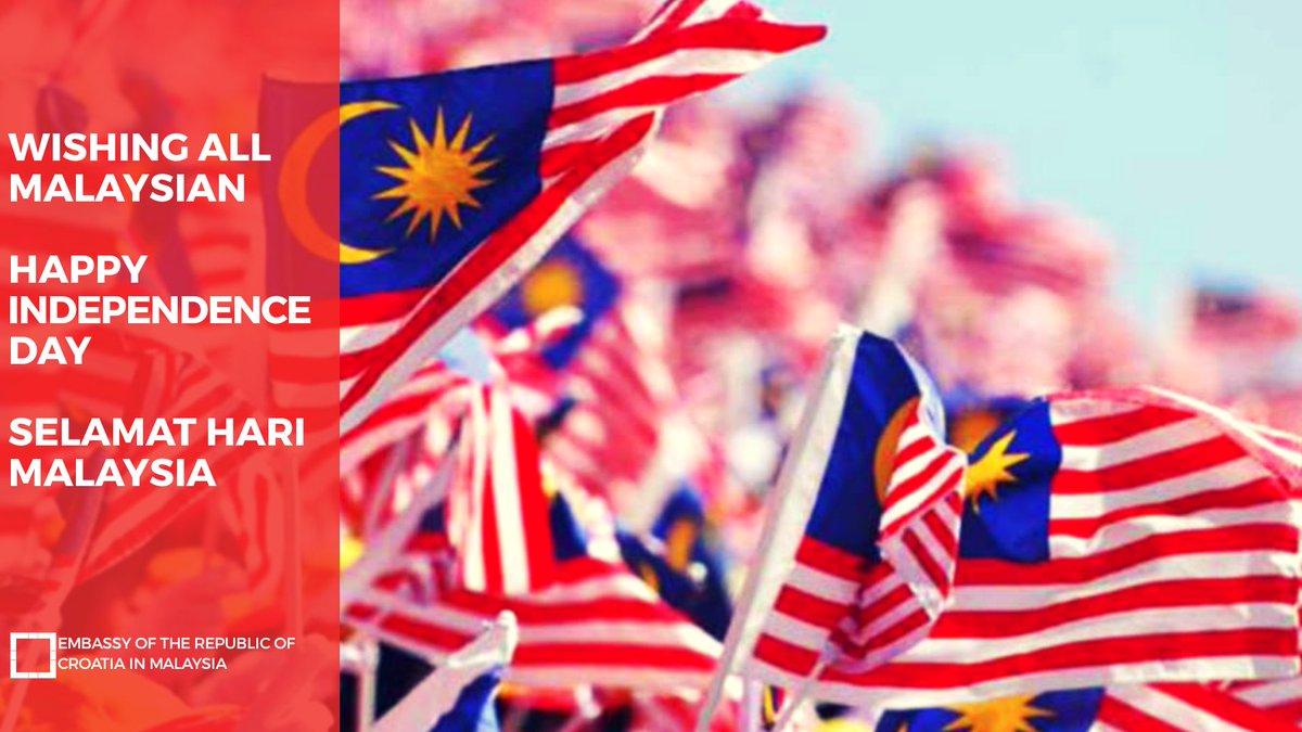 Kreso Glavac Pa Twitter Selamat Hari Merdeka To All Malaysians Every 31 August Malaysians Celebrate Their Independence Since 1957 The Theme For The 2019 Celebration Is Sayangi Malaysiaku Malaysia Bersih Stressing The