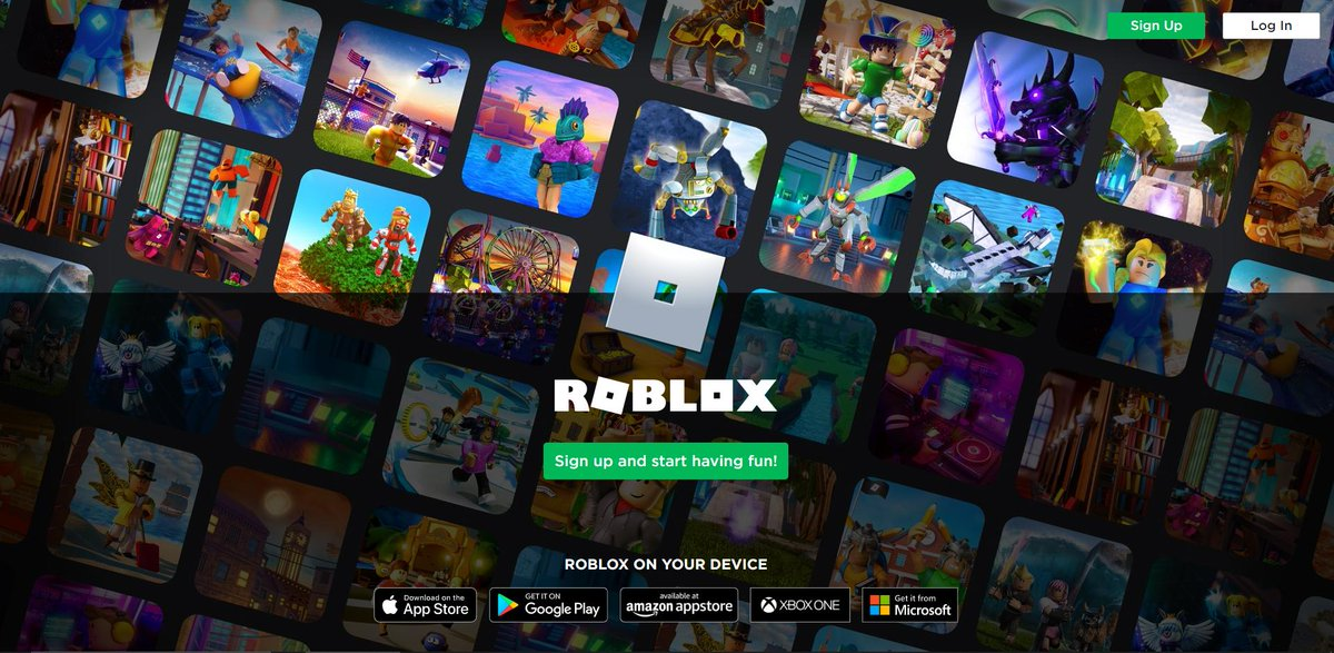 Bloxy News On Twitter The Landing Page For Https T Co 0nwnx59afv Has Been Updated With A Fresh New Look What Do You Think Of It Previously The Roller Coaster Background Roblox Https T Co 3log36vow2