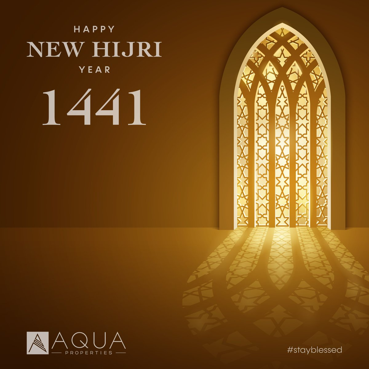 Happy Islamic New Year! Best wishes from all of us at AQUA Properties.  #AQUAProperties #RealEstate #DubaiRealEstate #Hijri #NewYear #MyDubai #UAE https://t.co/SdUuDe7pLv