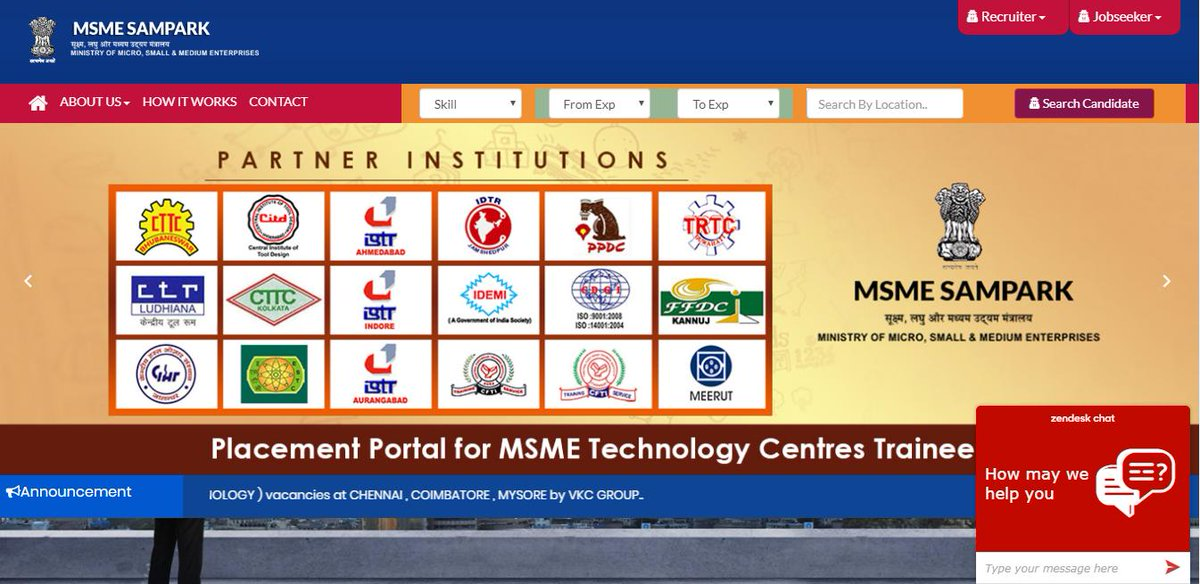 Searching for JOB ? Visit https://t.co/fEFYSu5y33 for registration, Placement portal for MSME Technology centre trainees. #MYMSME https://t.co/N3VH8Xp1I9