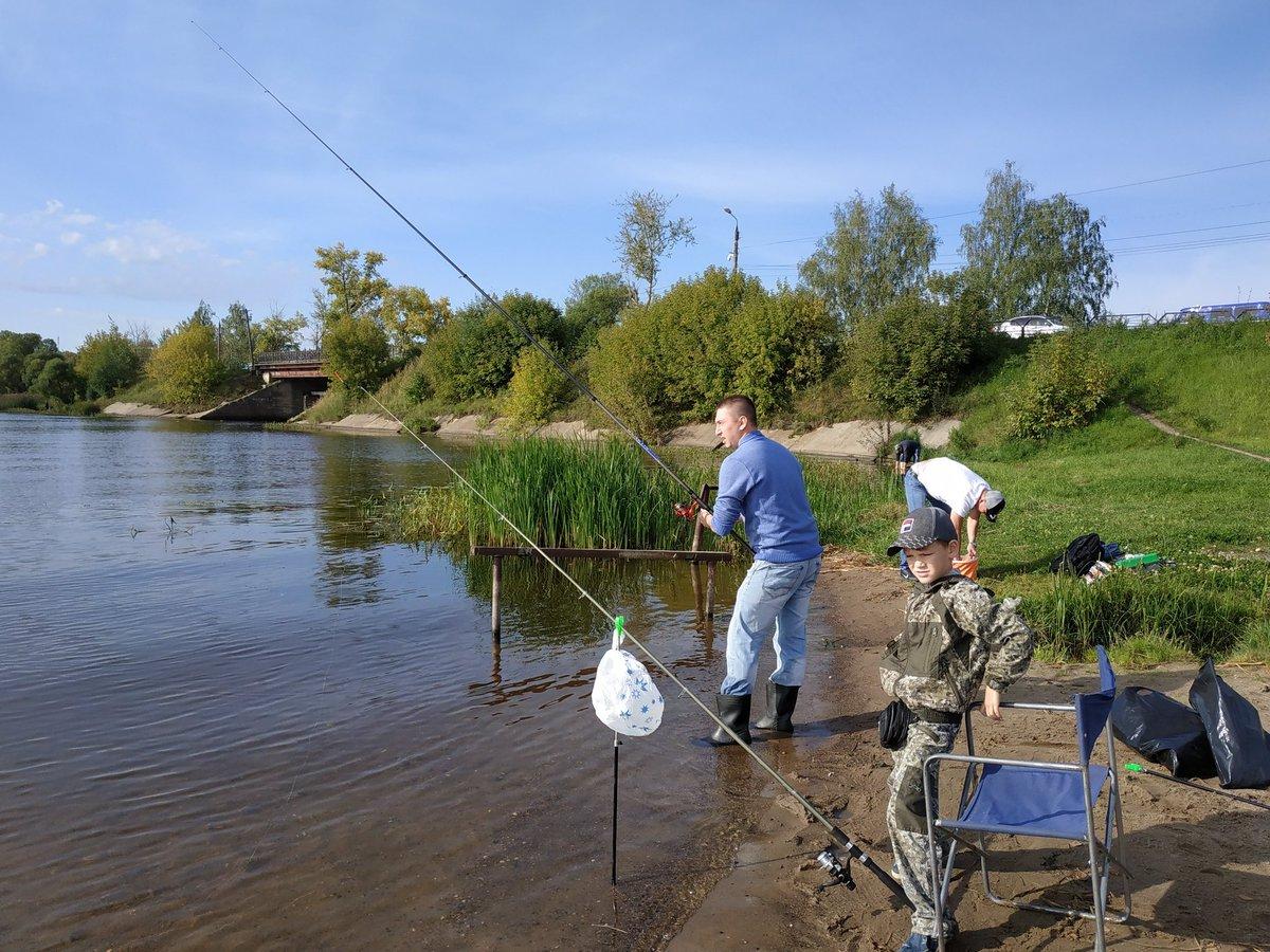 Места рыбалки в кинешме