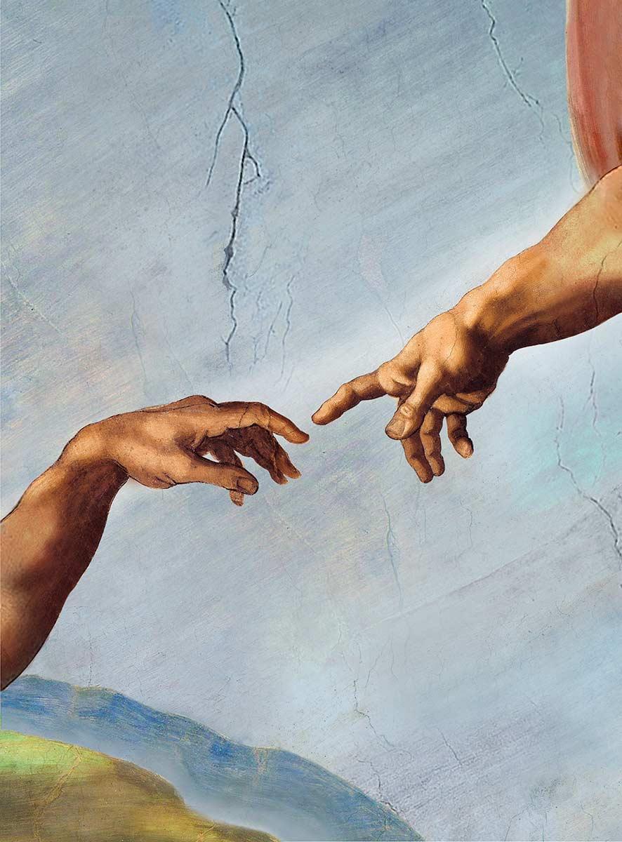 общий стиль картинка где двое тянутся друг к другу долго обходив