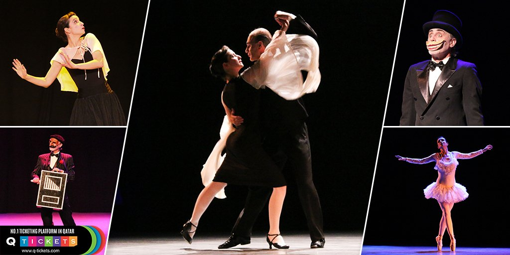 Some Sneak peek of Tango event #Qtickets #TangoEvent #LosGuardiola #Event #Doha #Qatar