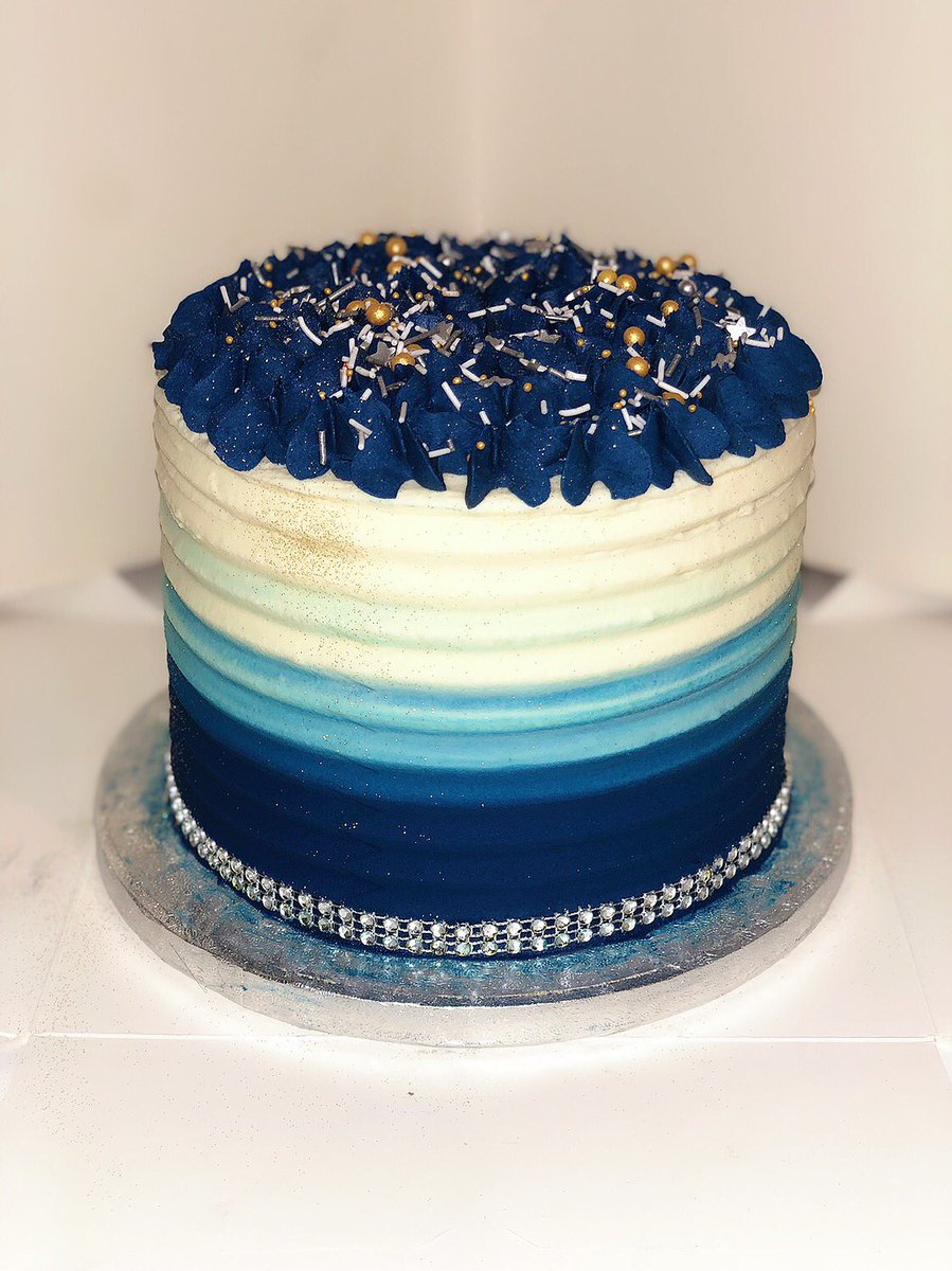 Swell Abbies Angelcakes On Twitter Blue Ombre Cake For A Dads Funny Birthday Cards Online Inifofree Goldxyz