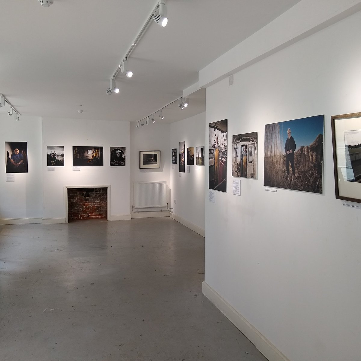 If you are in #GtYarmouth this week drop in and see @Jules_Foto fabulous portrait exhibition. Lots of local legends and some unsung heroes.   @GYMercury @BBCLookEast @Archant @EDP24 @HarbourRadioGY @thisisthebeach