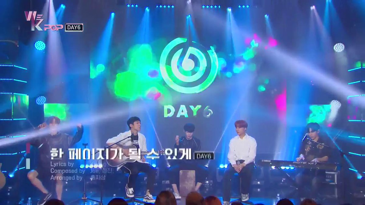 Watch the SPECIAL LIVE STAGE of #DAY6 #TimeOfOurLife on #WeKpop! #ep7 #kpop #kbsworld
