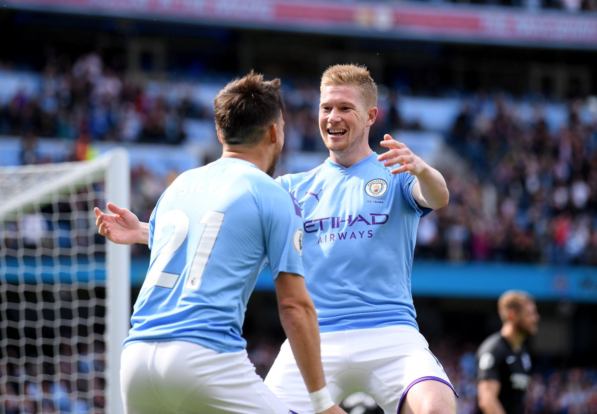 Video: Manchester City vs Brighton & Hove Albion Highlights