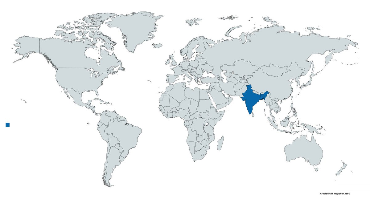 Countries that recognise the Bangladesh Genocide of 1971 #TerribleMap #Terriblemaps #Map #Maps #Bangladesh #India #Pakistan #Genocide