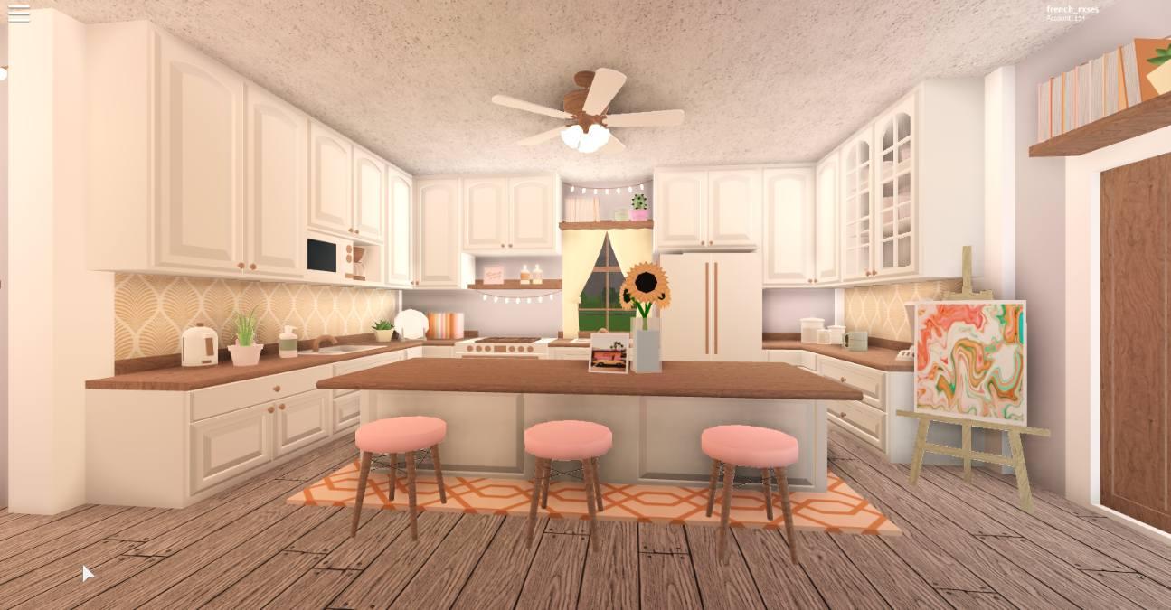 Living Room Bloxburg Kitchen Ideas