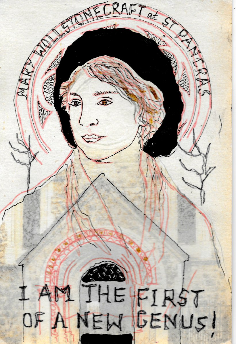 "Louisa Albani artist on Twitter: ""Tomorrow marks the anniversary month of Mary #Wollstonecraft's death. The art projects I've created inspired by her are all about honouring, recognising, remembering & celebrating her brilliant"