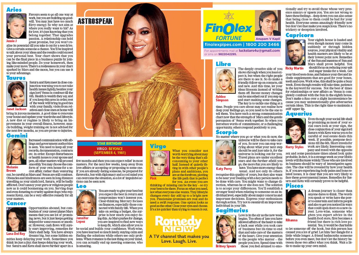 calcutta times horoscope