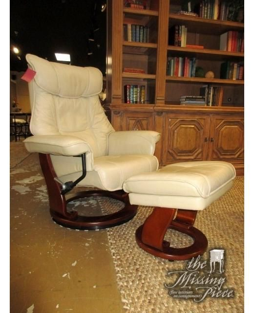 Incredible Benchmaster Reclining Chair With Matching Storage Ottoman In Short Links Chair Design For Home Short Linksinfo