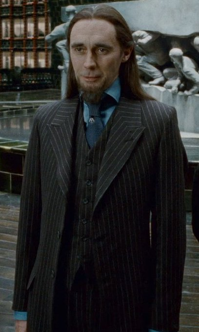 Happy 59th Birthday, Guy Henry! He portrayed Pius Thicknesse in Deathly Hallows: Part 1 and Part 2.