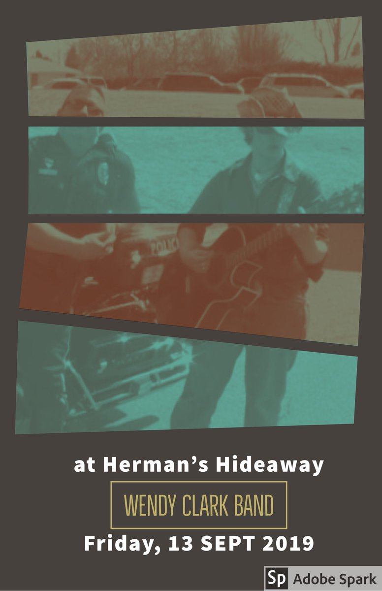 My band rocks @HermansHideaway with our dear friends #BucknerFunkenJazz in two weeks! Please bring yourself and tell a friend! Cheers! #livemusic #Denver #rock #Rockies #EXISTENTIAL #WENDYCLARKBAND #WCBpic.twitter.com/zw5QTLOUwo