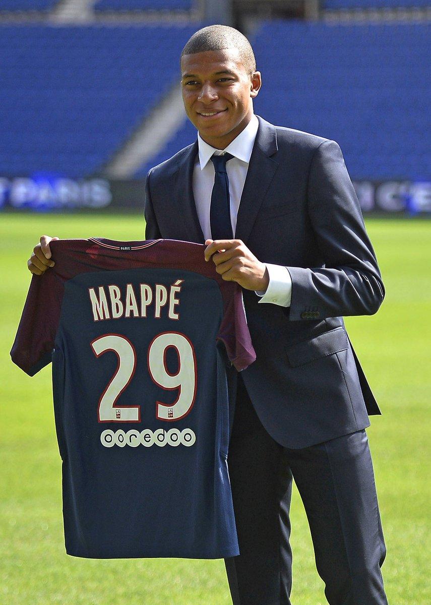 newest ea9ef b5545 Kylian Mbappé on Twitter: