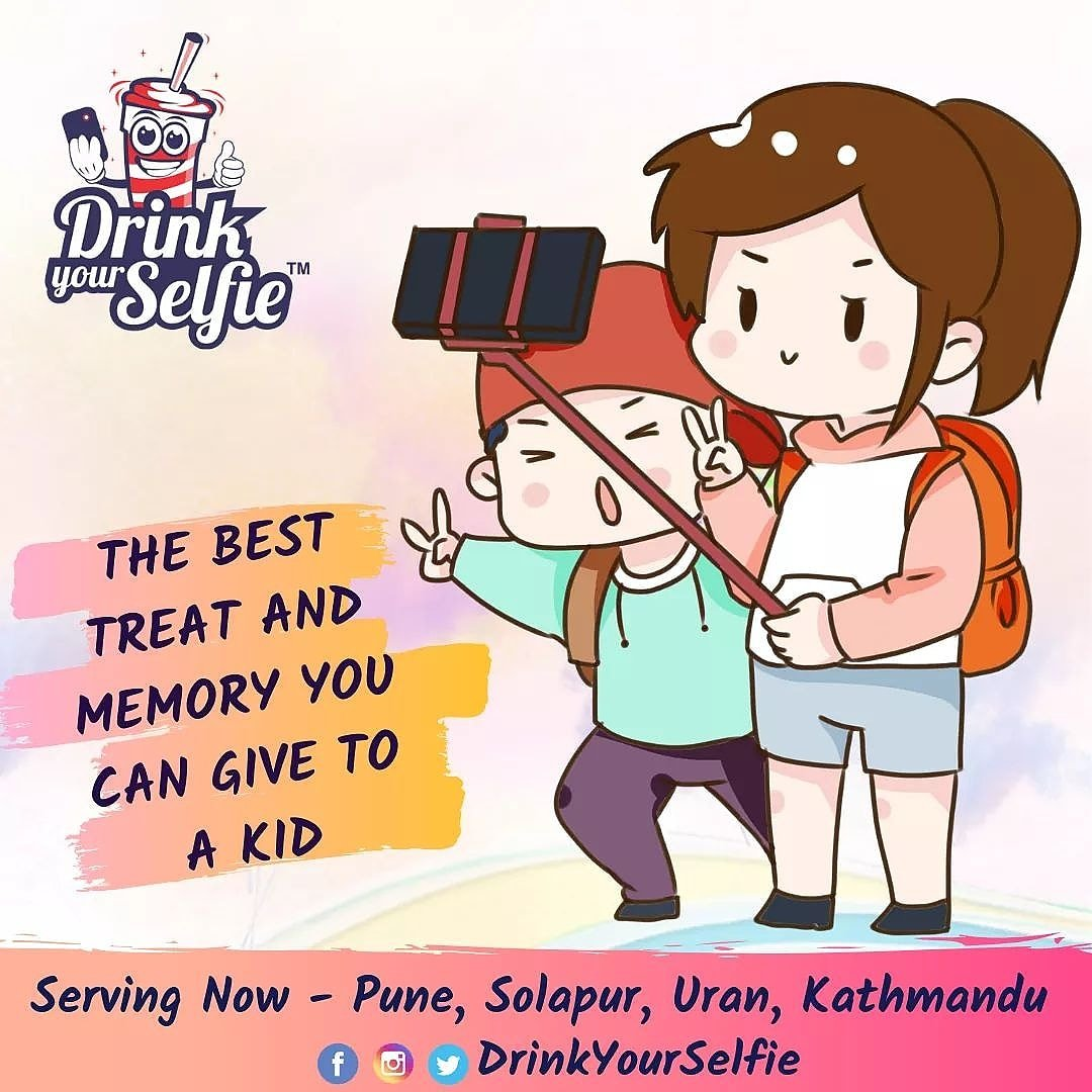 The Best Treat and Memory you can give to a Kid.#DrinkYourSelfie #selfiecoffee#lovemyjob#espresso#instaphoto#instadaily#instagood #instalike#Selfie#selfiemainepeeliaaj#clickitdrinkit#vimannagar