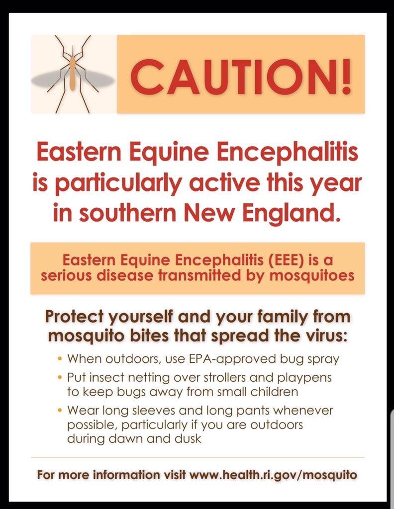 Mosquito EEE notice