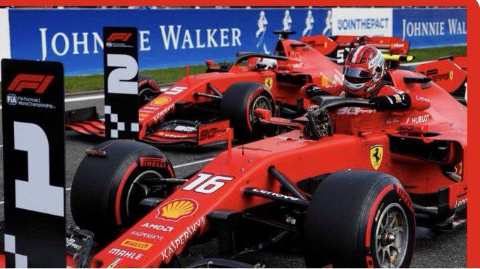 #F1 | Leclerc se adueñó de la pole en Spa