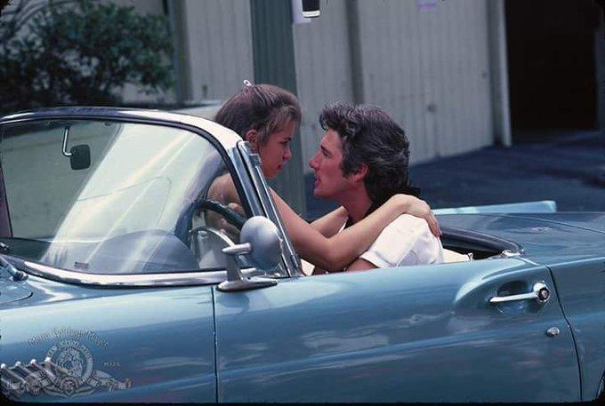 Happy birthday Richard Gere and Valerie Kapriskyin Breathless 1983.