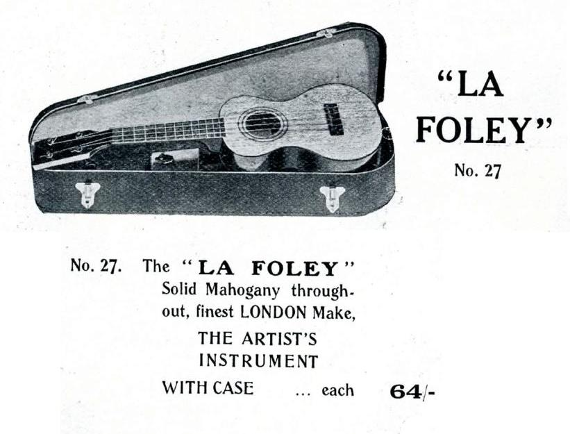 La Foley Advert
