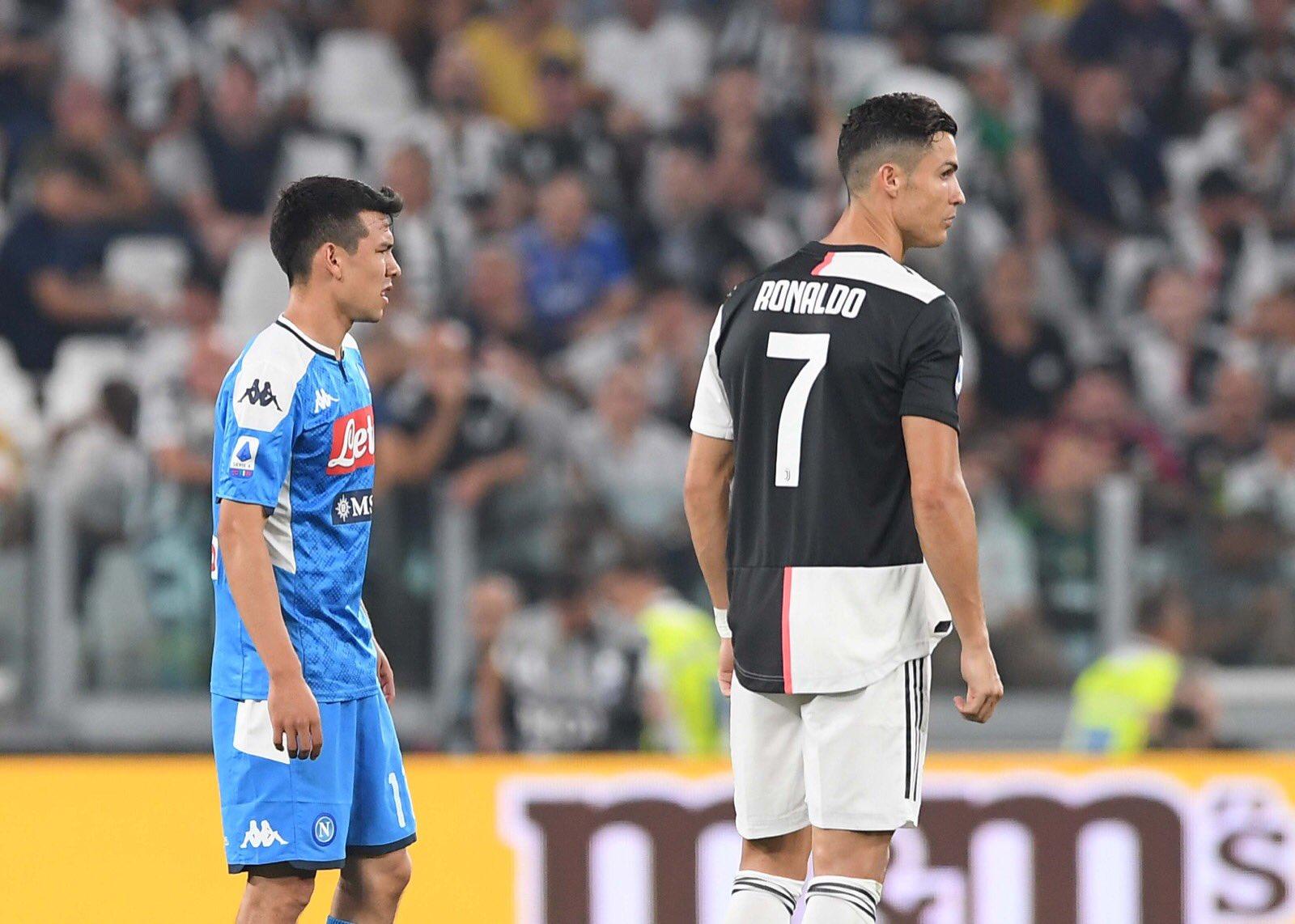 Lozano, medio, gol, Napoli, Juventus