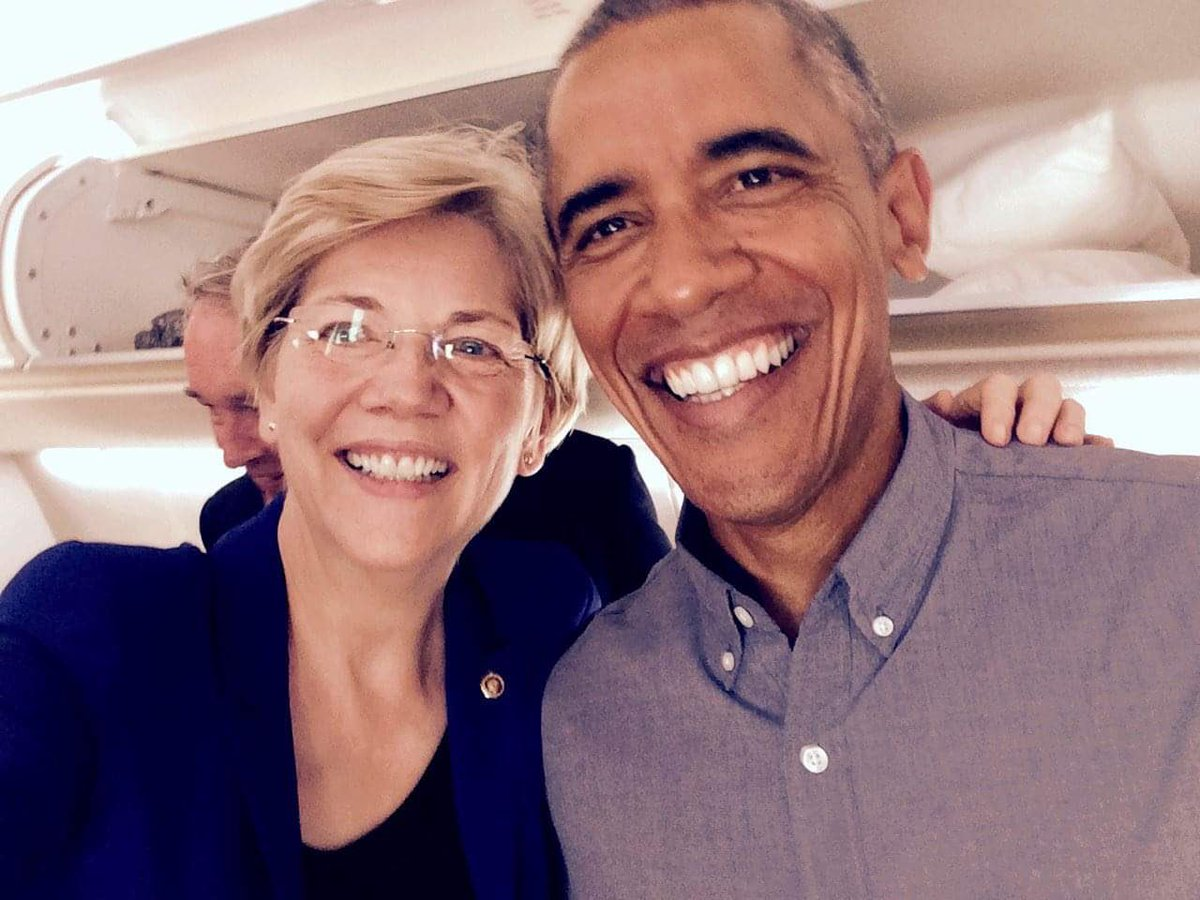 Obama Helping Warren