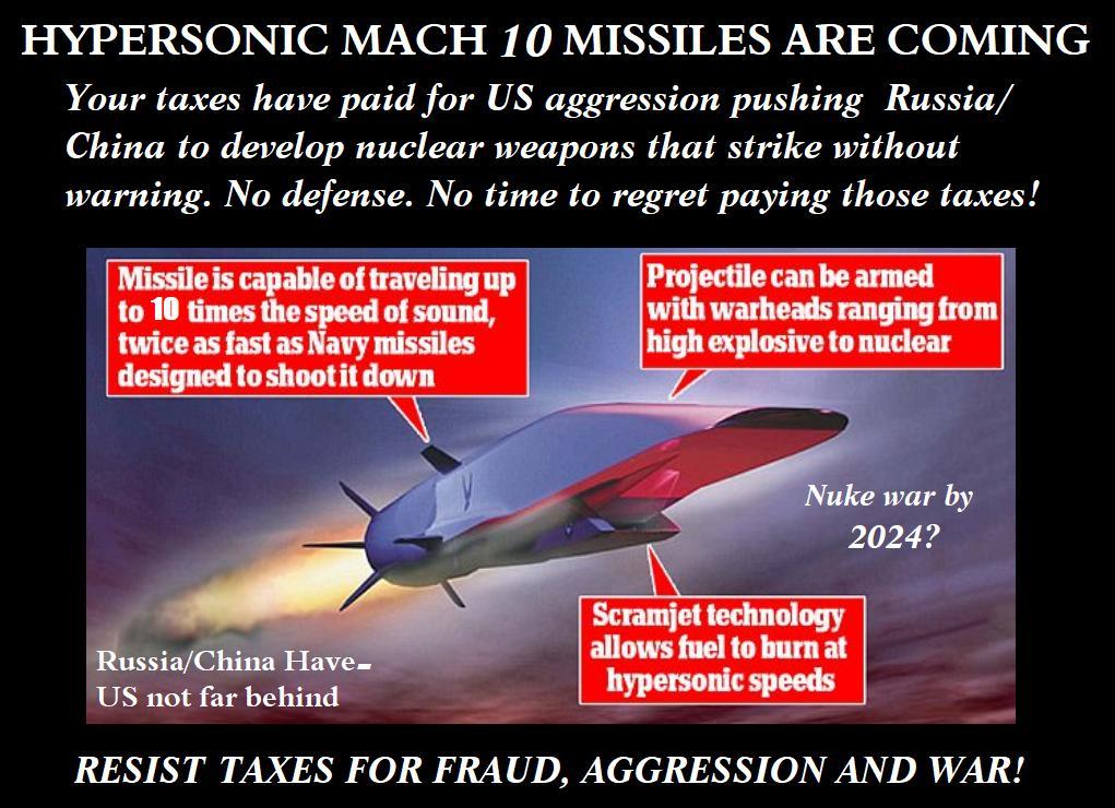 Etiqueta #hypersonic al Twitter