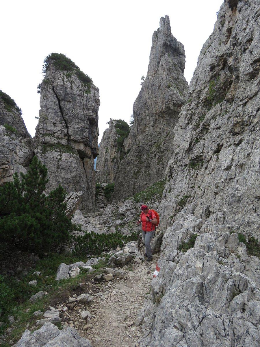 RT @ingmols: Hiken in de #Dolomieten ❤. Het was ...