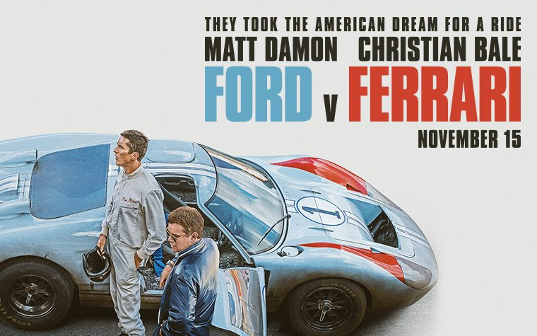 Metacritic On Twitter Ford V Ferrari 81 Nov 15 Https T Co 2e5g9kehoj The Playlist Ford V Ferrari Is The Sort Of Cinematic Entertainment That Sucks You In And Won T Let You Go Until You